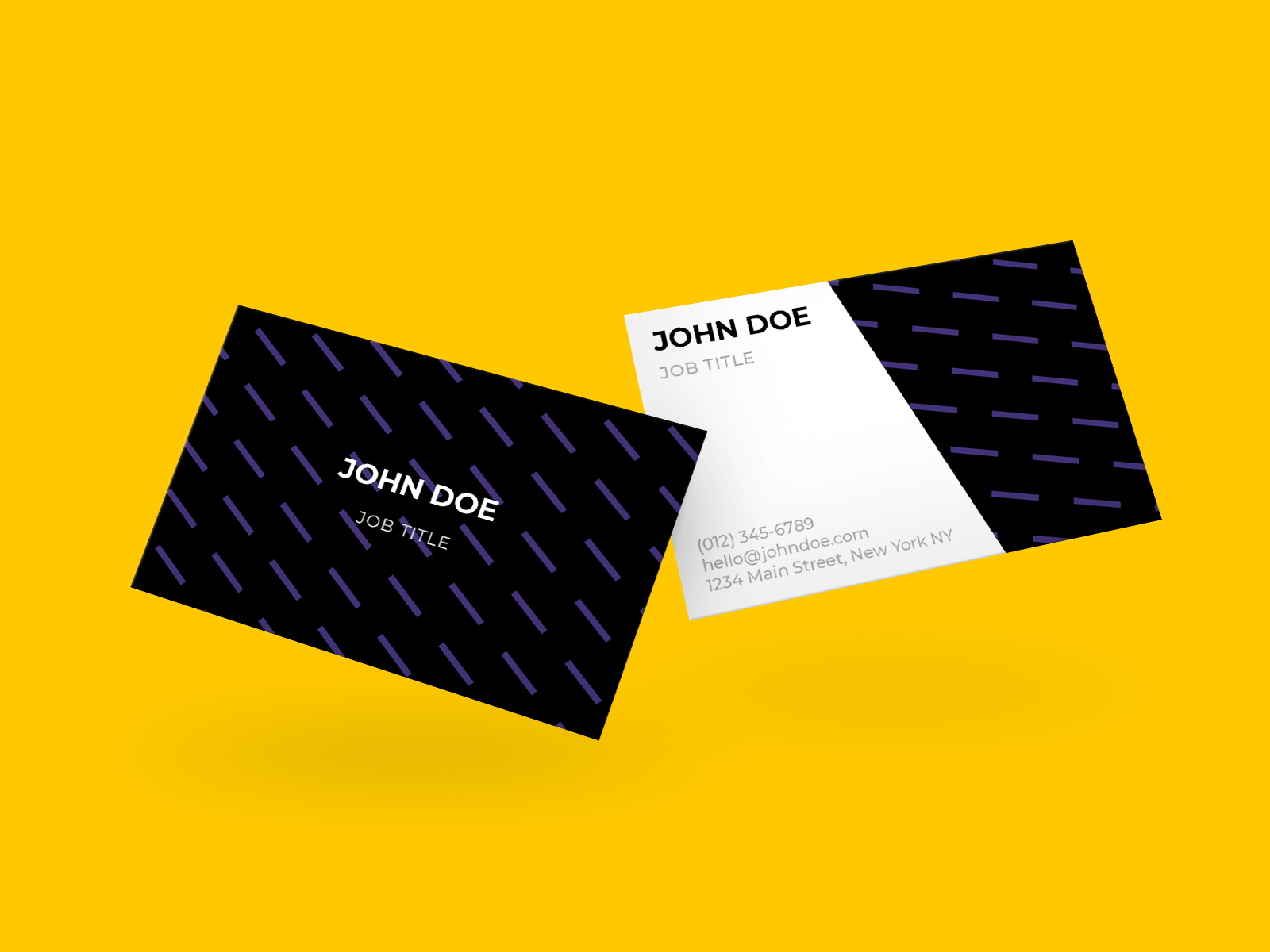 Mockup of Business Card